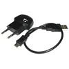 SIGMA SPORT Laddare + MicroUSB laddningskabel för Sigma Speedster/Stereo svart